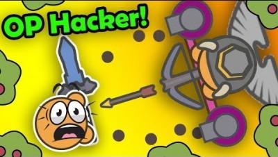 Attacking an INSANE HACKER'S base... BIGGEST FAIL! (Moomoo.io Funny Moments)