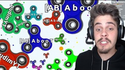 Barbs.io - Superspin.io + Agar.io // JOGO SUPER VICIANTE!! ‹ AbooT ›