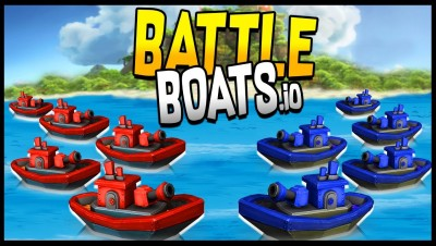Battleboats.io - Ship Combat! MY NEW FAVORITE! Battleboats.io Gameplay & Blue Spark SL Unboxing