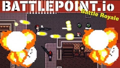 Battlepoint.io - A Deadly Battle Royale Game (Wins & Best Moments, 10 Kills)