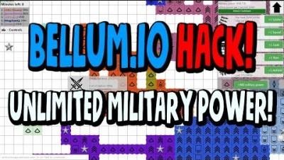 BELLUM.IO MODS HACKS! MILITARY POWER MONEY CHEATS!