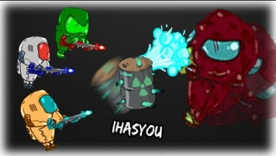 BEST NEW .IO STYLE SHOOTER GAME!! TROOPER.LIFE ! - iHASYOU