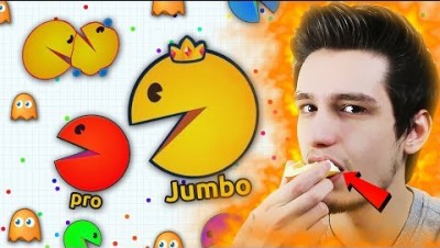 Better than agario ? ( playing and eating an apple at the end of this video )