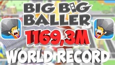 BIG BIG BALLER WORLD RECORD (1169,3m)
