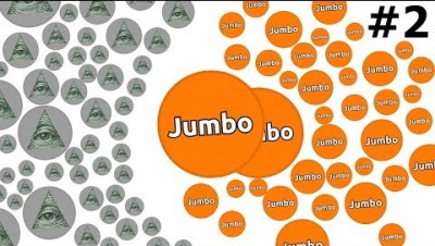 BIGGEST BATTLE IN AGAR.IO HISTORY - ''The Adventures of Jumbo'' #2