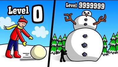 BIGGEST SNOWMAN POSSIBLE? Snowman Simulator // Roblox