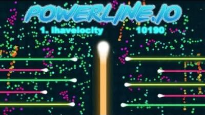 BIGGEST TROLLS!!   NEW .IO GAME (like slither.io)   Powerline.io