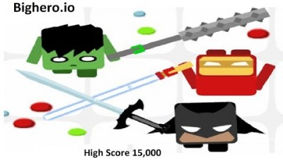 Bighero.io High Score 15,000 (New .io Game)