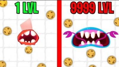 BITERS.IO MAX LEVEL EVOLUTION! BITERS.IO MAX LEVEL COOKIE BITER!