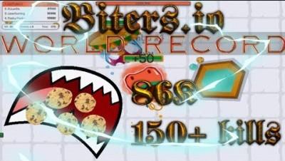 Biters.io WORLD RECORD |Max LvL Gameplay | 86K Score 150+ Kills