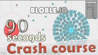 ✔ Bloble.io in 90 seconds! ( Tip & Tricks included ) | #Random.io Crash Course 9 | Blobleio