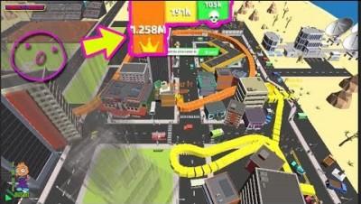 BOAS.IO - EATING ALL MAPS 100% CONTROL [WORLD RECORD 3M SCORE] SNAKE VS CITY - NEW IO GAME STRATEGY!