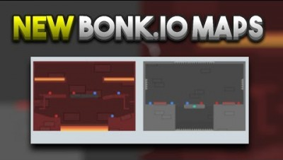 Bonk.io NEW Maps Showcase - The Dungeon & Lava Fortress