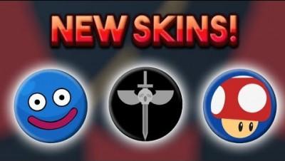 Bonk.io NEW SKINS - Corrupt X, Mario Mushroom & More!