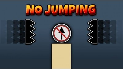 Bonk.io - The No Jumping Challenge