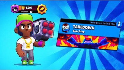 BOOM BOX BROCK + TAKEDOWN MODE! // BrawlStars