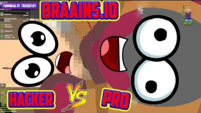 BRAAINS.IO [HACKERS VS PRO] GAINING MASS FAST +300,000K SCORE (braainsio update) | NEW IO GAME 2019