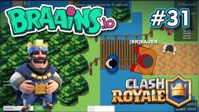 Braains.io - MAPA DO CLASH ROYALE - Gameplay #31