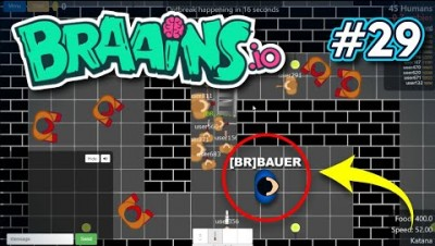 Braains.io - NOVO MAPA DUNGEON - Gameplay #29