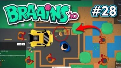 Braains.io - PROTEÇÃO NO CARRO - Gameplay #28