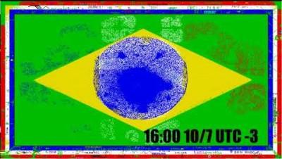 Brasil Vs. França Timeplase - PixelCanvas.io