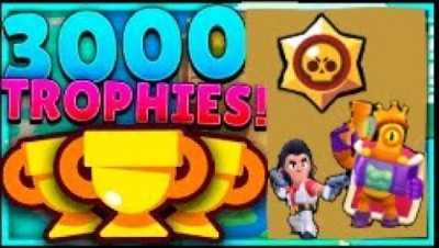 Brawl stars// final push to 3000 trophies//playing with fans