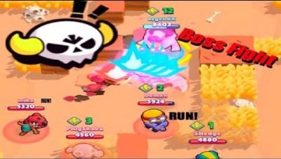 Brawl stars mini game  - Boss Fight