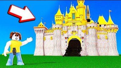 Building The BIGGEST CASTLE POSSIBLE? // Roblox