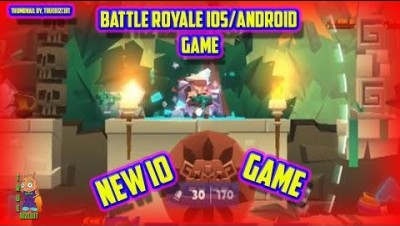 BULLETLEAGUE.IO [NEW IO GAME 2019] 2D BATTLE ROYALE ANDROID/IOS GAME | 100% MAP CONTROL