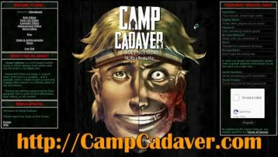 Camp Cadaver is back - Under