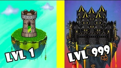 CastleWars.io - ALL LEVELS MAXIMUM EVOLUTION | WORLD RECORD
