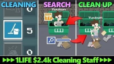 CLEANING to SEARCH to CLEAN UP - $2.4K Cleaning Staff's Life - NEND.io