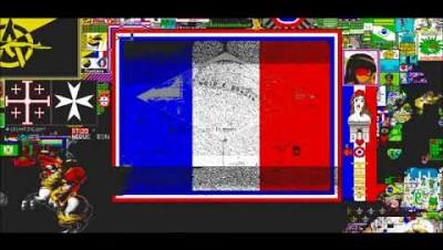Construção da Bandeira Void - PixelCanvas.io