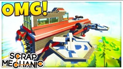 COPS AND ROBBERS! - Scrap Mechanic Multiplayer Gameplay & Update Challenge
