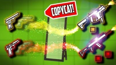 COPYCAT CHALLENGE!! Surviv.io Battle Royale Best Moments!