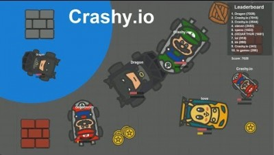 Crashy.io New .io Game (Car.io) Best Score
