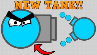 CRAZY NEW DIEP.IO SKIMMER TANK!! // vs Boss // 250K+ First Attempt (Diep.io Update)