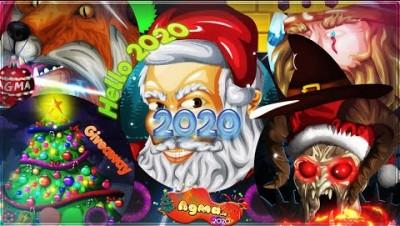 CRAZY *POWERUPS* CHRISTMAS TAKEOVER 2020 | AGMA.IO