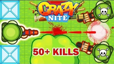 Crazynite.io - Battle Royale Deathmatch: Most Kills (50+ Kills, 13K Score)