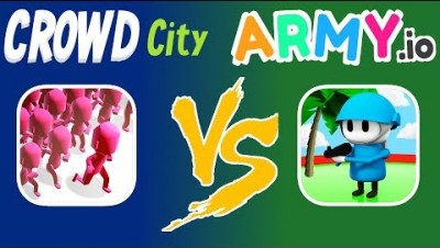 CROWD CITY VS. ARMY.IO | WHICH IS THE BETTER GAME?