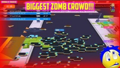 Crowd City Zombie Crash [100% Map Control] NEW IO GAME | Zombie Mosh Pit (tips, tricks & strategy)
