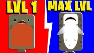Deeeep.io - 2-Player All Evolutions (MAX Lvl) | JeromeASF