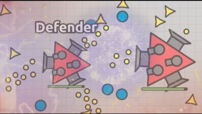 DEFENDER NEW DIEP.IO BOSS AUTO TRAPPER! BEST AND STRONGEST BOSS