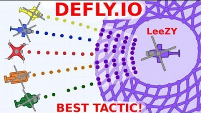 DEFLY.IO - SURROUND THE WHOLE MAP!  How To Get 100% EASY! DEFLY.IO | LeeZY iXPLODE Arena Closer