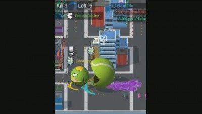 Delicious.io Pacman 3d - Battle Royale