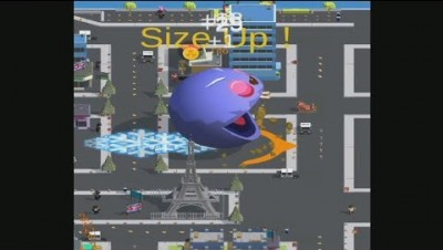 Delicious.io Pacman Battle Royale Map Control