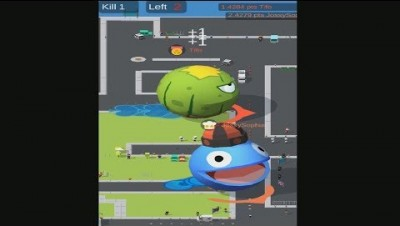 Delicious.io Pacman Map Control - Battle Royale