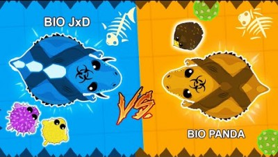 Desert Rex vs Aqua Rex in Mope.io | NEW Bio Custom Skins