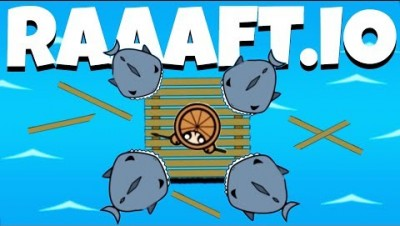 Destroying Sharks and Hunting Pirates! - Raaaaft.io Game - Raaaaft.io Update