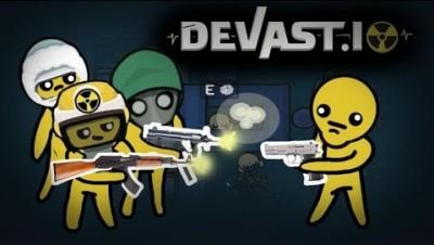 Devast.io Battle Royale Mode How To Win Having Nothing Or Worse Guns ?